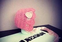 Hoodiegan crochet bonnets