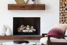 Fireplace/ mantle