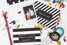 Thank You Cards and More / Get creative and personalize your own Thank You cards to send to your special guests.  / by Shutterfly