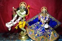 special ten incarnation shringar of Rukmini Dwarkanath at ISKCON Kaundanyapur