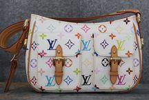Louis Vuitton White Multicolor Lodge PM