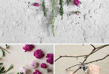 Çiçek süslemeler
