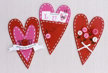 Valentine's Day Crafts / Surprise your loved ones with these DIY crafts on Valentine's Day !