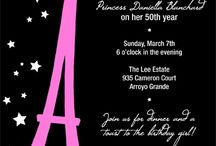Eiffel tower party