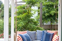 Garden & Porch Spaces / Garden and outdoor decorating ideas to make you want to spend all your time outside.