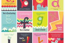 Church Nursery Word Art / by Erica Miller