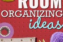 Craft art room organization