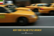 New York Italian Style Brunch at The Montagu! / New York Italian style hits the street's of London this spring, as five-star hotel Hyatt Regency London - The Churchill transforms its Saturday brunch menu. Who said you couldn't eat pizza for breakfast? The set brunch menu costs £59 per person and is available every Saturday in The Montagu restaurant from 12.30 to 15.00. For reservations, contact montagu.hrlondon@hyatt.com or tel. +44 (0) 20 7299 2037.