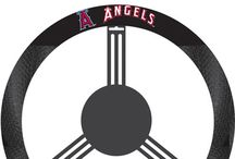 MLB -Los Angeles Angels Fan Cave Decor, Tailgating Gear and Car Accessories / Find the latest Decor for your LA Angels Man Cave, Supplies for tailgating and MLB licensed Angel Car and Truck Accessories for Los Angeles Baseball Fans!