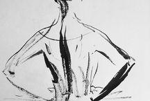 Ballet / балетная графика, ballet drawing