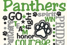 Panthers / by Michelle Buie