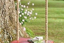 Backyard planning / by Alicia, Northern Belle®