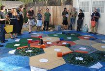 Board game area
