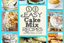 Cake Mix Recipes!