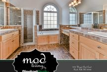 Mod Living Collection by Rinehart Realty / Exceptional Interiors in Local Real Estate Listings in York County, South Carolina and the surrounding Charlotte, North Carolina areas.  Our offices are located in Rock Hill, Fort Mill/Tega Cay, Lake Wylie, Clover & Columbia SC.