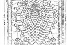 Вязание крючком + ткань