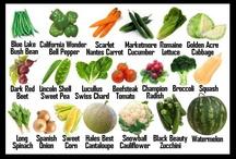 Vegetables, Fruits & Herbs