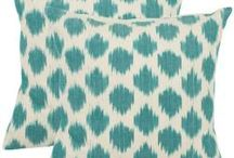 throw pillows / by Laura Denney-Lawson