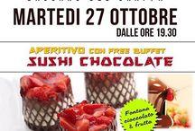 I-SUSHI BASSANO E L'ATELIER DI MR UDY ITALIA / Apericioccolatsushi