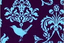 ::: Aqua & Purple Decor :::