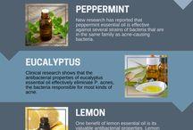Essential oil blends/recipes