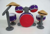 Y Crochet musical instruments / by LittleOwlsHut