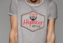 T-shirt Uomo / T-shirt fatte a mano, pezzi unici!