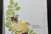 Stampin up Betsy's blossoms