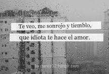 Que idiota es el amor