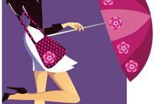 fashion girl illustrator
