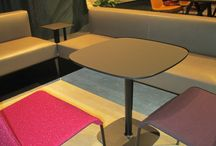 FENIX NTM @ IMM 2015 Cologne / FENIX NTM, Nanotech Matt Material at the furniture trade show in Cologne.