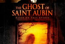"The Ghost Of Saint Aubin (Movie) / (Short Synopsis) ""When a beautiful woman disappears, a shocking secret is revealed in an explosive and supernatural tale of love, revenge and obsession spanning generations."" (Starring) Alan Bradley (TV's Cold Blood), Ashlee McLemore (Trophy Girl), Joel Mitchell (Street Boss), Joel Steingold (TV's That Morning Show & Clean House). / by Green Apple Entertainment"