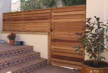 Outdoor doors, Gates and Fences
