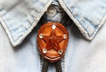 Boho hippie Bolo ties/Necklaces