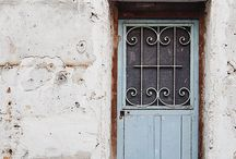 Doors / I have an obsession with beautifully made/styled doors