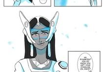 Teleport - A Junkrat x Symmetra mini-comic / A story made by Oodles of Doodles - All credit to him         Website:http://raedoodles.tumblr.com/post/148080694327/teleport-a-junkrat-x-symmetra-mini-comic-notes