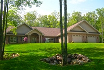 Ranches by Dickinson Homes / often called 1 story or ranch style homes designed and built by Dickinson Homes