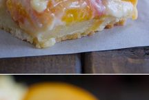 Peaches & Cream Bars / by Connie Burgdorf