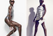 Posing fashion photography
