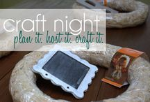craft night / by Marilyn Clark (4 You With Love)