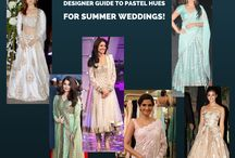 Go for pastel hues this summer wedding! / Go for pastel hues this summer wedding! ‪#‎designerguide‬ ‪#‎fabcouture‬ ‪#‎designerfabrics‬ ‪#‎pastelcolours‬ http://wp.me/p6qlgO-4J