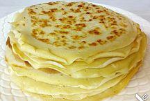 Crepes/Pfannkuchen&Waffeln