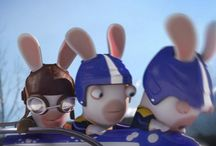 LAPINS CRETINS / RABBIDS / by Supamonks
