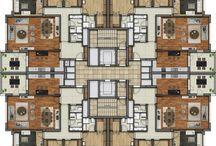 katta 4 daire plan