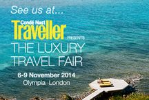 Luxury Travel Fair London / Tailor-make your next awe-inspiring escape at Condé Nast Traveller The Luxury Travel Fair. A hand-picked a definitive collection of the finest and most unique holiday and high-end travel experiences from all corners of the globe.