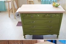 Recycled furniture ideas / Clever ideas
