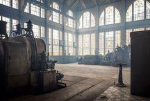 Opuszczone fabryki / (Stare machiny)