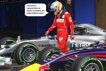 Co v tiskových materiálech nebylo / Tradiční odlehčené ohlédnutí za závodními víkendy formule 1.