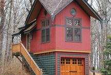little cabin in tha woods