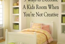 Bedrooms-Kids / by Norah Baron